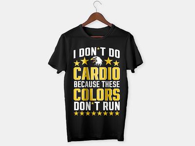 Cardio T-shirt Design
