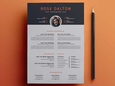 Minimal Resume Design