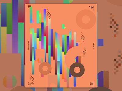 •Pieces• glow rainbow hue abstract art challenge design challenge inspo abstract sketch app illustration adobe sketch vector photoshop design