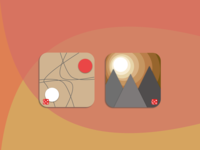 App Icon Set -- Khaki themed