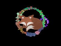 Sleepi fox