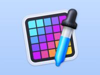 Color Picker macOS App Icon icon mac color picker macos app icon mac app icon macos app icon