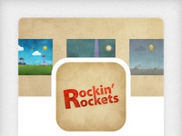 Rockin Rocket - Available on the App Store