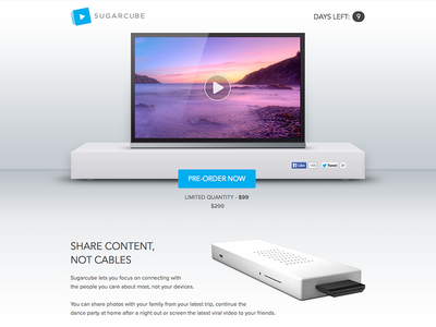 Sugarcube - Share Content, Not Cables sugarcube airplay chromecast tv