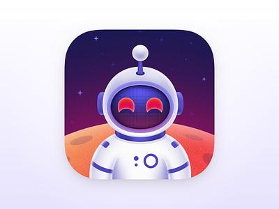 Space Shanty - Apollo Ultra Icon app space astronaut apollo ultra app icon ios app icon apollo