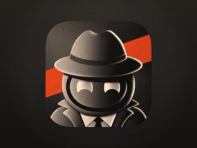 Man of Mystery - Apollo Ultra Icon app icon icon designs ultra icon apollo app icon design detective ios app icon apollo
