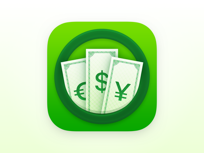 Currency - iOS App Icon app icon design icon currency icon design ios app icon app icon