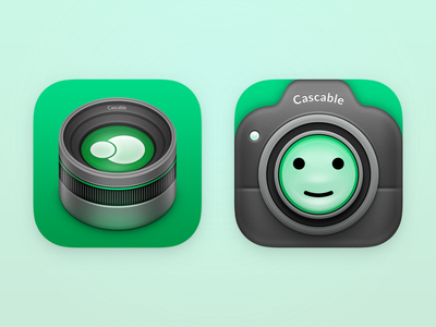 Cascable 6 - Alternate App Icons camera app icon camera ios icon app icon design app icon icon design ios app icon cascable