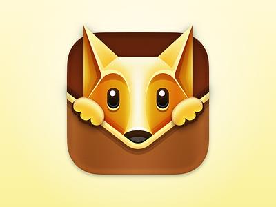 Fox - Issue Tracker macOS App Icon app icons macos fox icon design app icon design fox icon app icon macos app icon