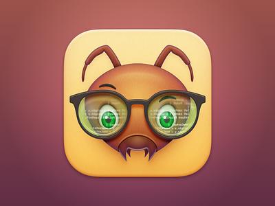 DevAnt - macOS App Icon ant face ant icon ant realmac software app icon design icon design mac app icon app icon macos app icon
