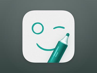 Wynk - iOS App Icon icon design icon app icon design ios app app icon ios app icon wynk