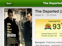 Mockup of Rotten Tomatoes App