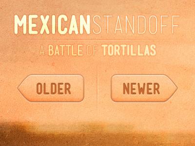 Mexican Standoff a.k.a Mensch Test mensch