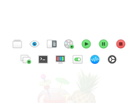 Custom Handbrake Toolbar and Preference Icons