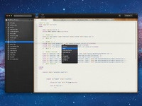 Coding app with file browser v.2