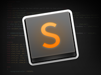Sublime Text App Icon