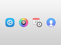 FuzzyTime Preference Icons