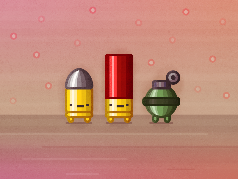 Enter The Gungeon Characters by Matthew Skiles on Dribbble