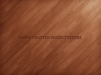 Hand-Crafted Wood Texture - Angled wood texture