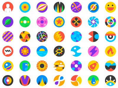 Airmail Account Icons