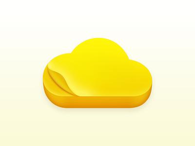 Memo macOS App Icon icon app icon macos icon notes memo