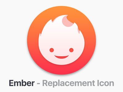 Ember - Replacement Icon replacement icon flame icon ember app icon