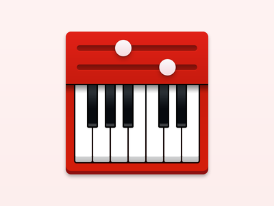 Live Performer - macOS Icon piano midi app icon icon mac live performer