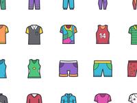 Alvarez - 50 Clothing Icons