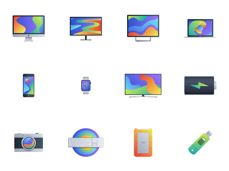 Bloom - 15 Tech Icons free tech icons