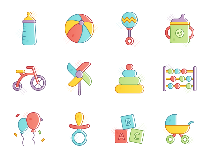 Buster - 15 Kids Icons free kids icons