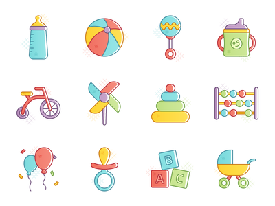 Buster - 15 Kids Icons