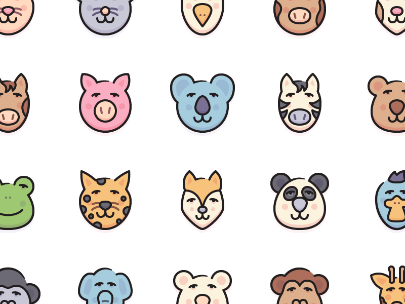 Graham - 20 Animal Icons free animals icons