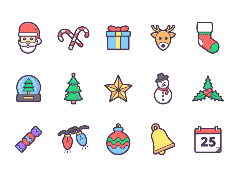 Jingle - 15 Christmas Icons free christmas icons