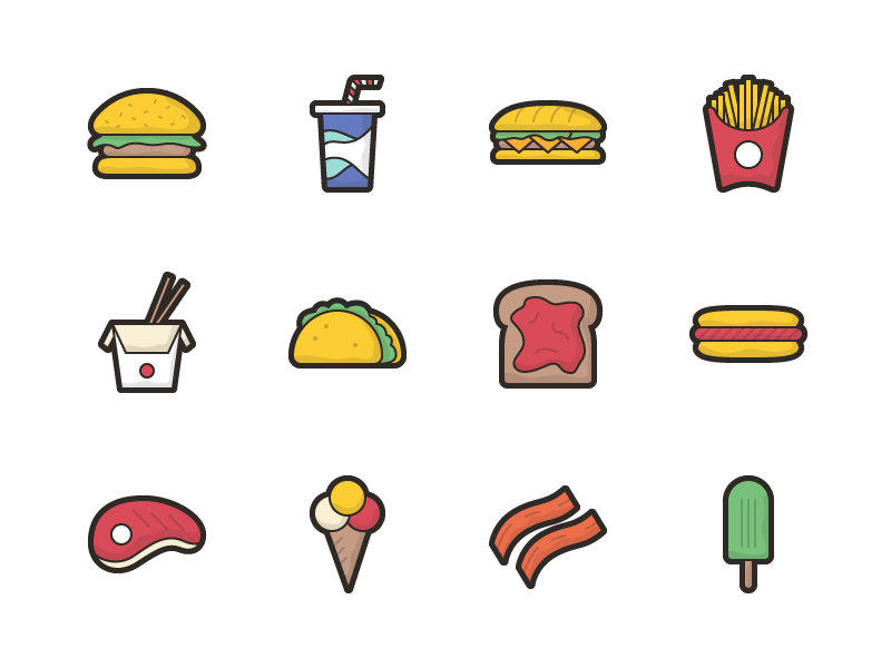 Remy - 50 Food Icons free food icons