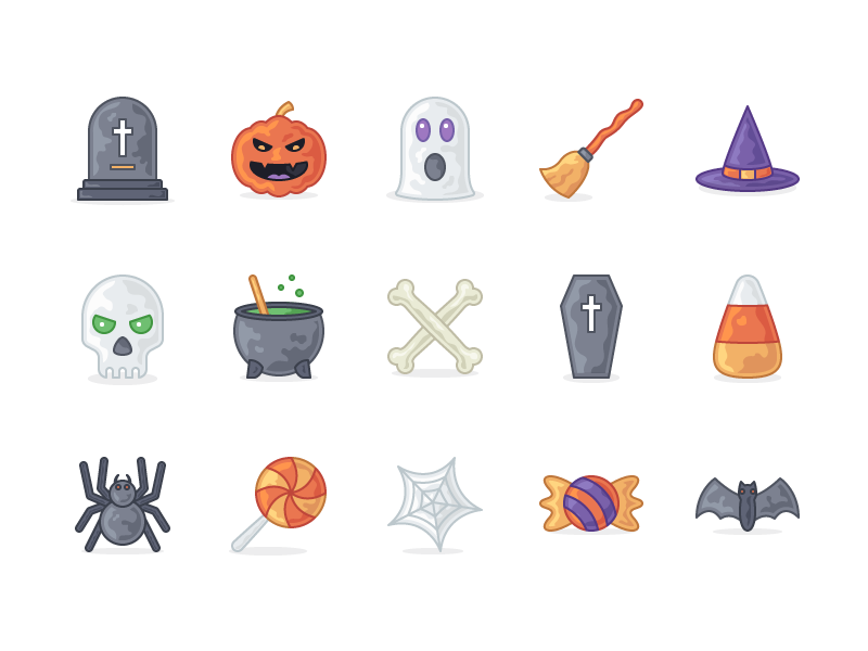 Otto - 15 Halloween Icons free halloween icons