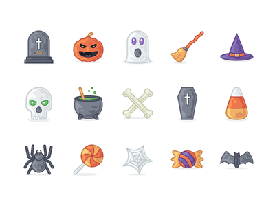 Otto - 15 Halloween Icons