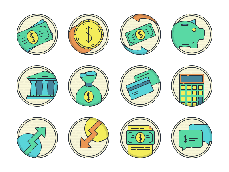 Oden - 15 Finance Icons free finance icons