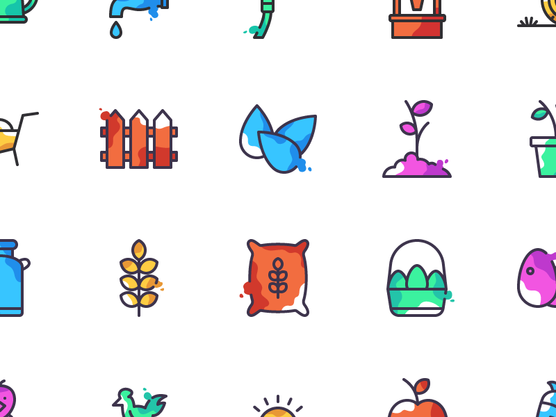 Macdonald - 50 Farming Icons free farming icons