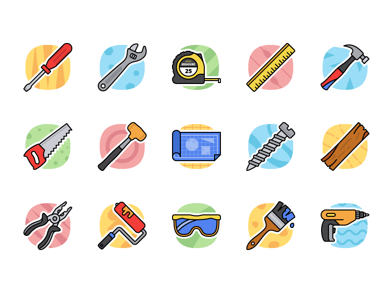 Taylor - 15 Tool Icons free tools icons