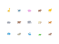 Wylder - 15 Animal Icons