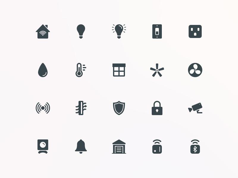 Homekit Icons - Simpaticons simpaticons icon set ios icons ios icons