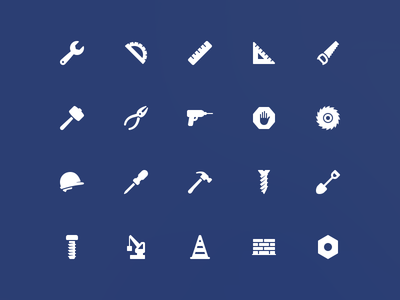 Construction Icons - Simpaticons