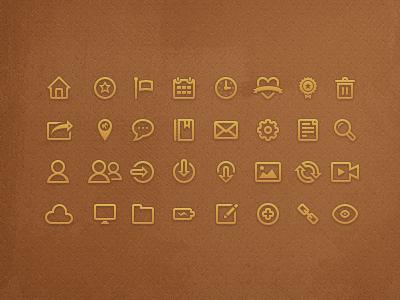 Nameless icons v.2