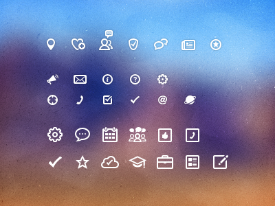 Business finder icons