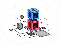 Cubes and planes 2x