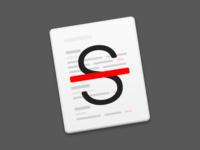 Strike macOS App Icon