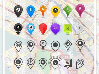 Location Pins pins location pins map location