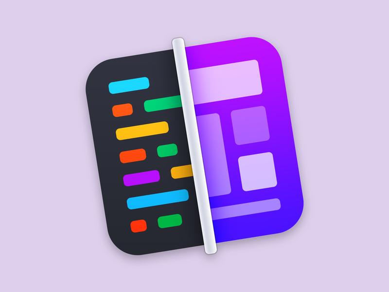 HTML WYSIWYG Editor macOS App Icon icon mac app html editor macos icon macos