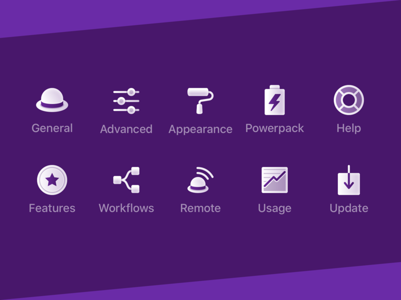 Custom Alfred Preference Icons