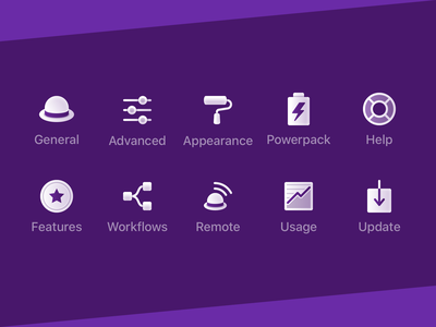 Custom Alfred Preference Icons app preferences preference icons icons app macos alfred